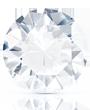 El color blanco excepcional diamante