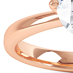 Precious metal 18ct Rose Gold