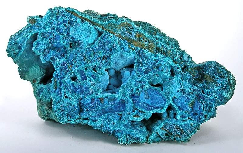 Chrysocolla-Tyrolite-Clinotyrolite