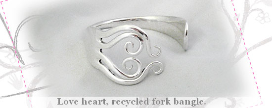Recycled Frok Bangle