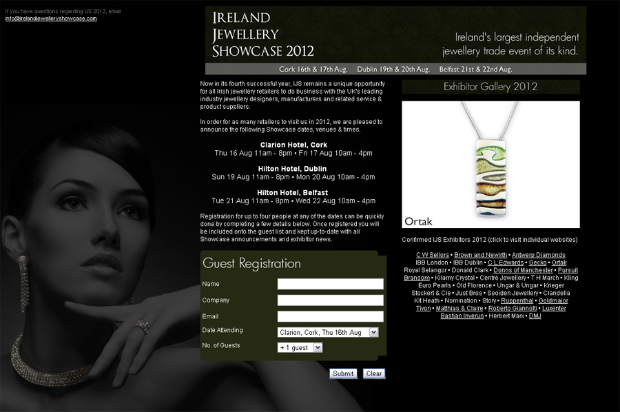 International Jewellery Showcase 2012