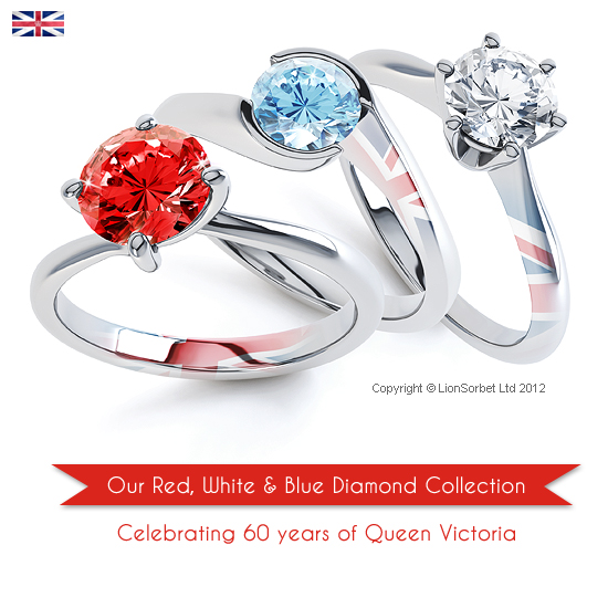 Diamond Jubilee 2012 diamond collection by Jewellery Monthly