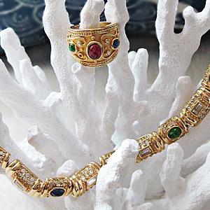 versace jewellery ring