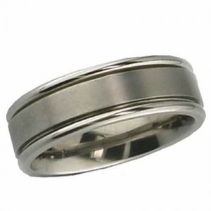 flat designer wedding ring