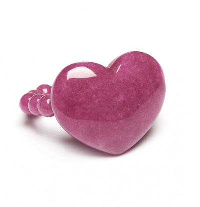 Lola Rose Alexa Puff Ring Pink