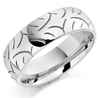 Patterned Wedding Ring platinum