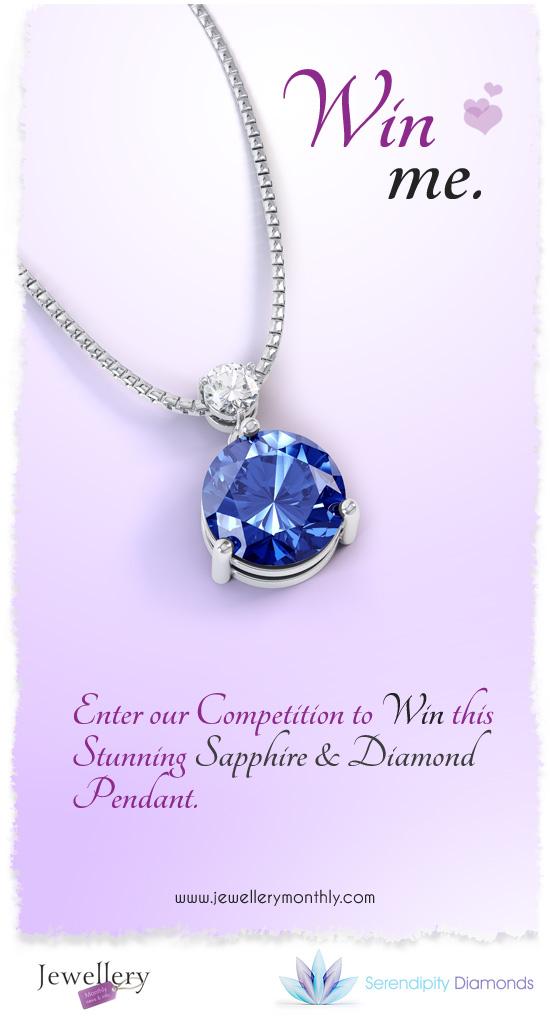 Diamond & Sapphire Pendant competition