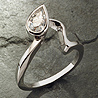 designer platinum engagement ring