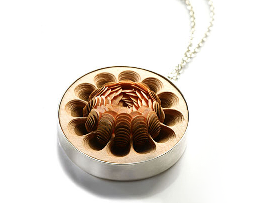stunning paper pendant