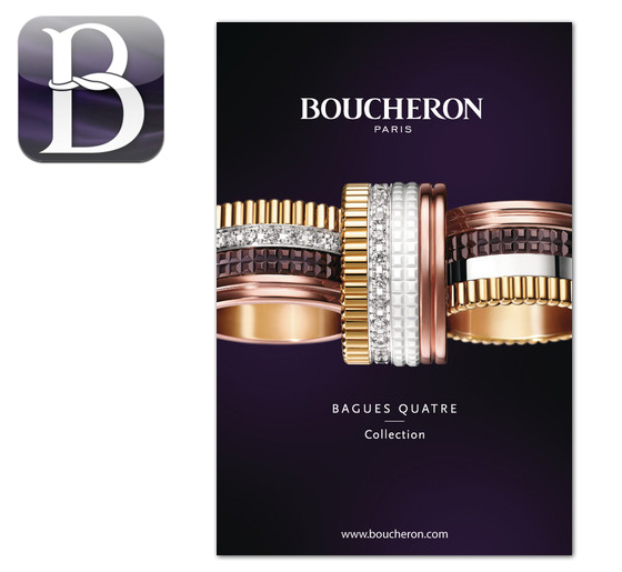 Boucheron Jewelry Iphone app