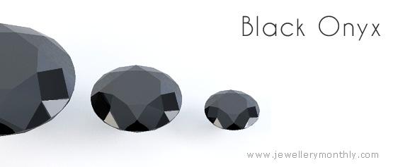черный драгоценный камень оникс