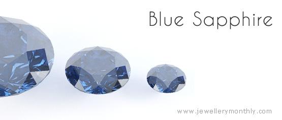 синий сапфировый камень