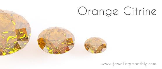 orange citrine