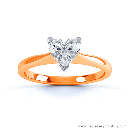 orange gold ring