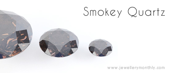 дымчатый кварцевый камень