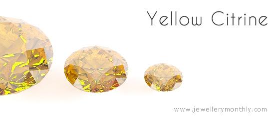 желтый цитрин