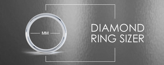 diamond ring size charts