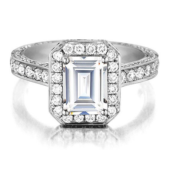 Daussi Engagement Ring