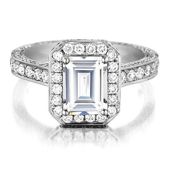 Daussi Engagement Ring