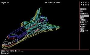 Space Shuttle DWG
