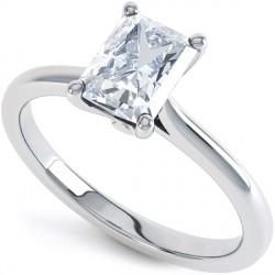 Resultado de imagen para anillos con Diamante Corte radiante