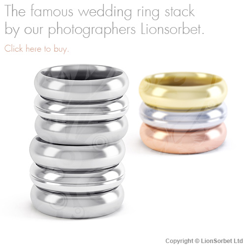 the wedding ring stack