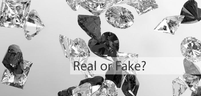 real or fake diamonds