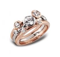 7 stone diamond ring