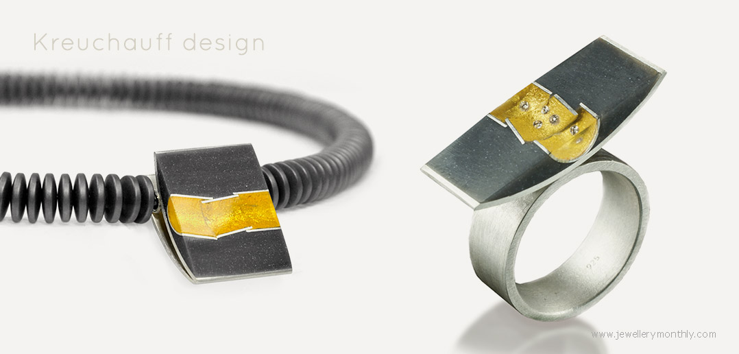 deep space collection ring and pendant