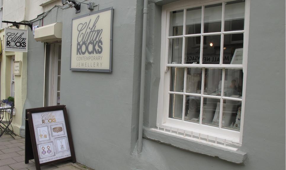 Clifton Rocks shop front