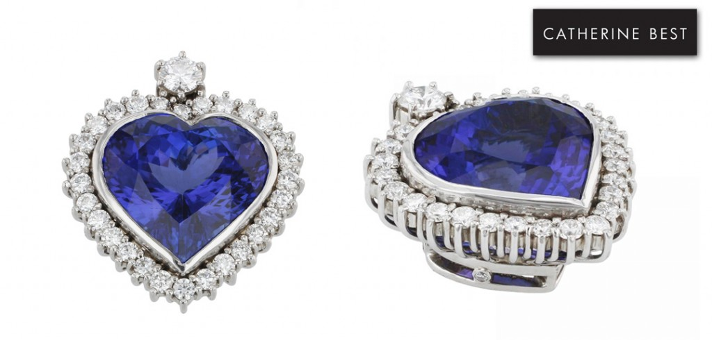 Heart of Africa Blue Tanzanite