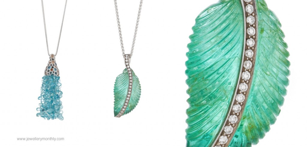 holts london leaf pendant