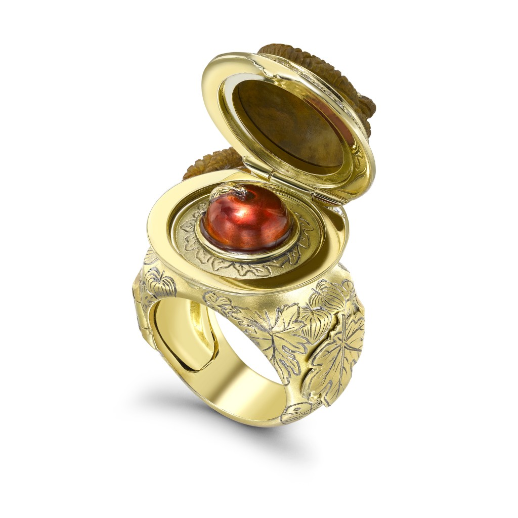 THEO FENNELL adam and eve ring