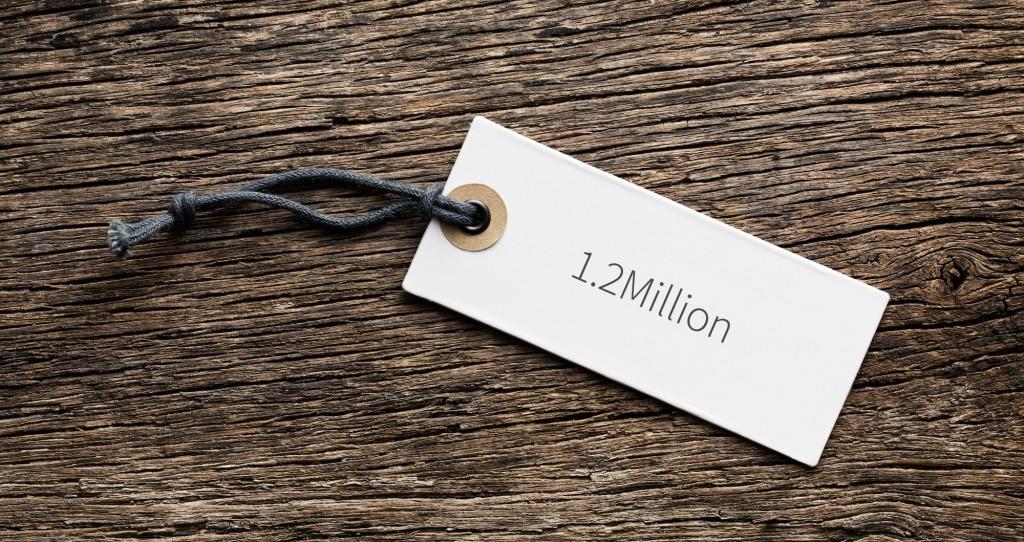 1.2million