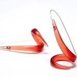 Lesley strickland, twirl earrings
