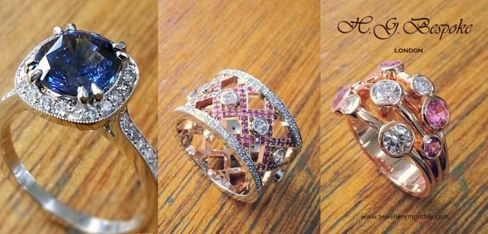 bespoke diamond rings