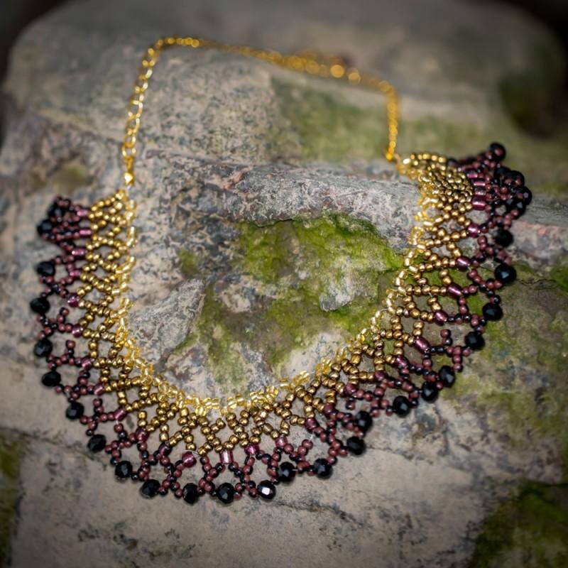 sarah beaded necklace