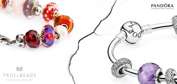 Pandora or Trollbeads – the most popular charms