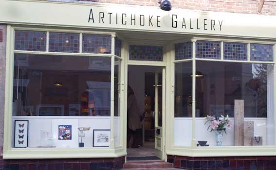 Artichoke Gallery frontage