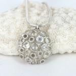 Boo coral pendant
