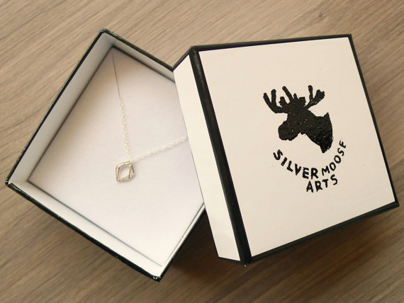 Silver Moose Arts Jewellery box