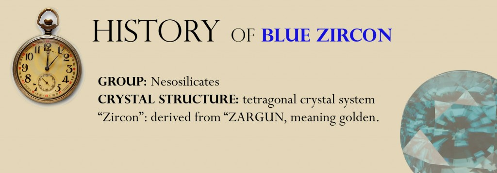History of Blue zircon