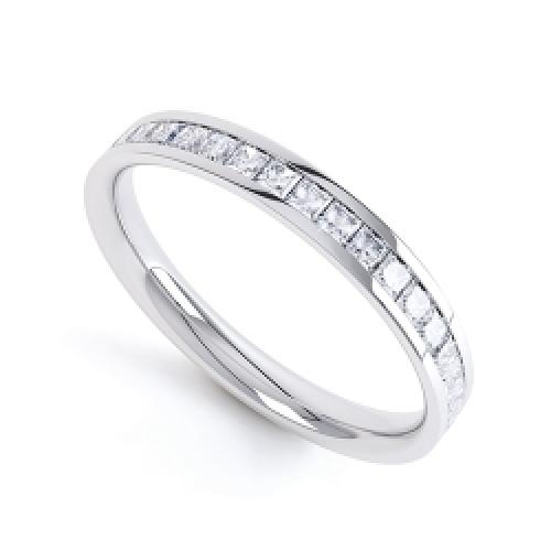half eternity ring by diamonds please