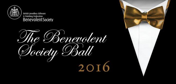 BENEVOLENT SOCIETY BALL –  Thursday 1st December 2016