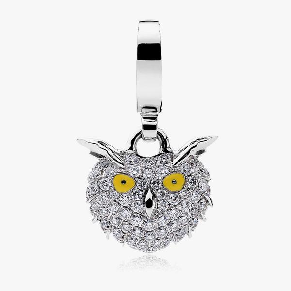 Theo Fennel Smowy Owl Charm