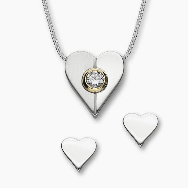 Heart Pendant by Ortak