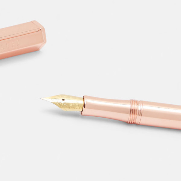 Ted Baker Rose Gold Valentines Fountain Pen