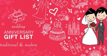 Wedding Anniversary Gift List – Traditional & Modern