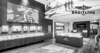 breitling store launch
