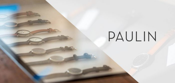 Glasgow Watch Brand Paulin Opens Flagship Store